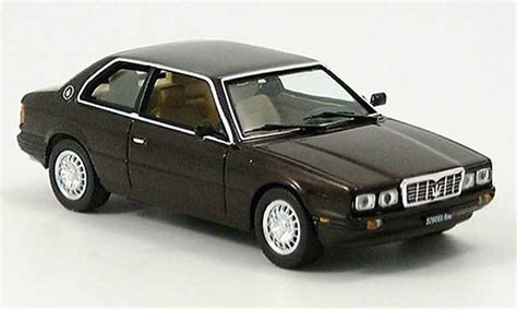maserati brown maserati biturbo brown 1982 ixo diecast model car 1 43