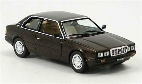 maserati brown maserati biturbo brown 1982 ixo diecast model car 1 43