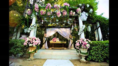 Unique Decorations For Home by Best Garden Wedding Decoration Ideas Youtube