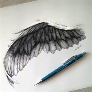 wing drawing by lethalchris on deviantart