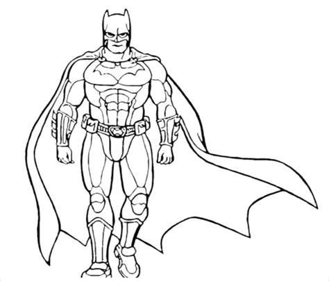 batman coloring pages psd ai vector eps