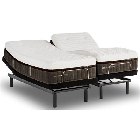 stearns and foster adjustable bed stearns foster lakelet elite full firm hybrid mattress