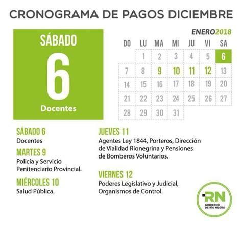 el cronograma de pago de los haberes de enero a los jubilados y el s 225 bado 6 comienza el cronograma de pago adn