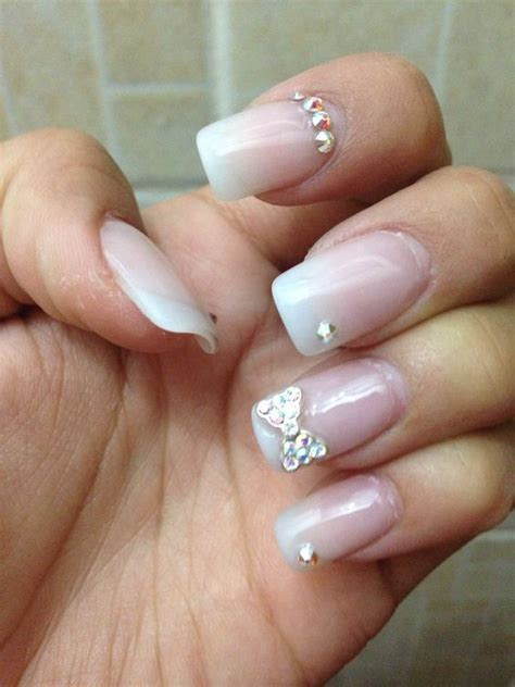 ver imagenes de uñas decoradas 2015 u 241 as con mo 241 o de diamantes u 241 as pinterest sencillo