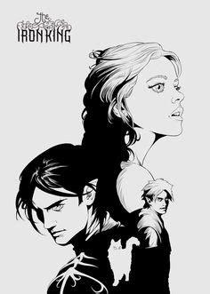 Puck and Meghan, The Iron King manga by Julie Kagawa