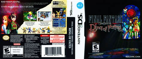 Ring Of Fates Nds Nintendo chronicles ring of fate cover nintendo ds covers the iso zone
