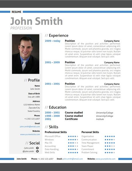 Updated Resume Samples by Modern Resume Template Trendy Resumes