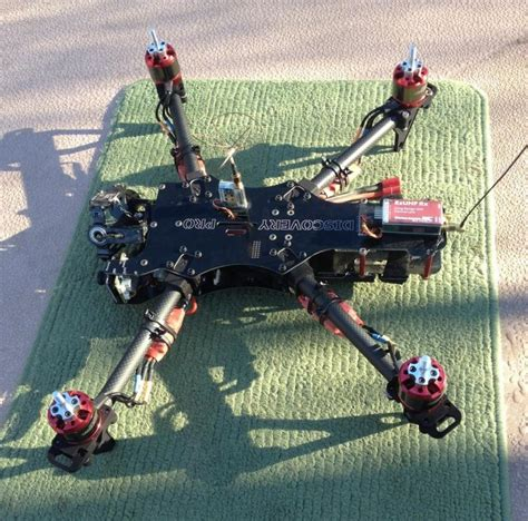 Aerialmob Arm Extensions B aerialmob arm extensions for tbs dji f450 dji f550