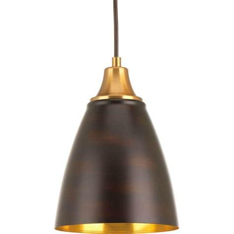Pendant Light With Cord Progress Lighting Led Collection 1 Light Antique Bronze Led Cord Hung Mini Pendant P5175