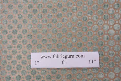 Robert Allen Upholstery Fabrics by Robert Allen Velvet Geo Upholstery Fabric In Mineral