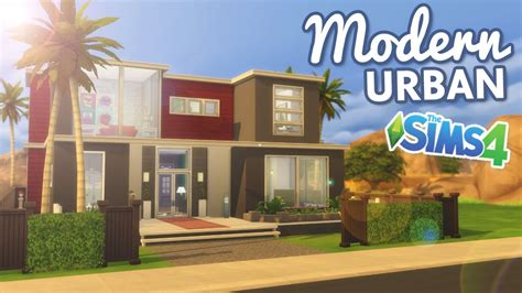 the sims house building modern abode speed build youtube idolza the sims 4 speed build modern urban home youtube