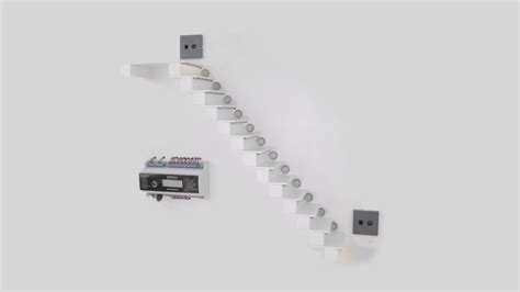 treppenbeleuchtung bewegungsmelder automatische sensorgesteuerte led treppenbeleuchtung led