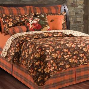 Twin Coverlets Fall Bedroom Decor Fall Leaves Quilts And Bedding Autumn