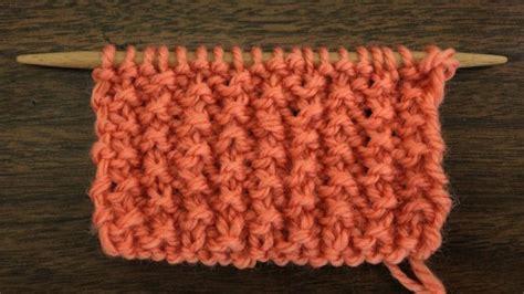 rs knitting the seed rib stitch knitting stitch 63