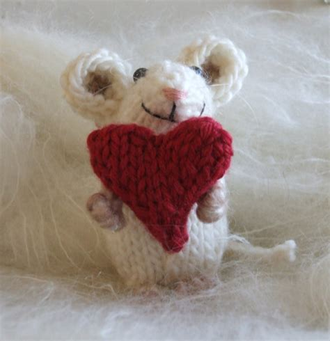 knitted mouse mouse knit pattern
