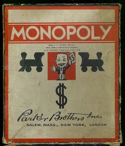 The Mars Monopoly 7 mars 1933 invention du monopoly