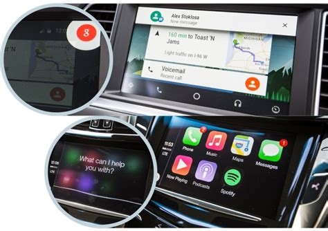carplay for android apple carplay против android auto