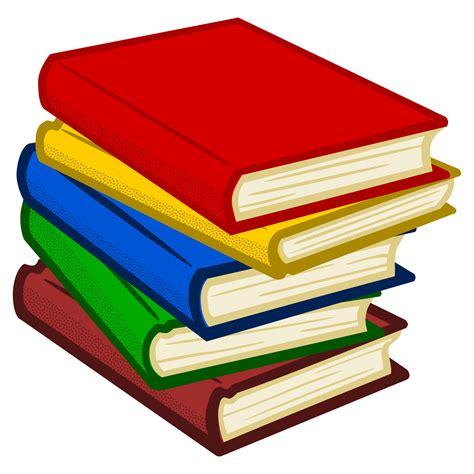 clipart libro clipart books coloured