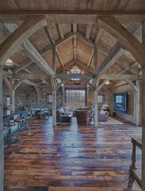 Superior Build A Barn House #6: Barn-Interior-Douglas-Fir-Timber-Frame.jpg