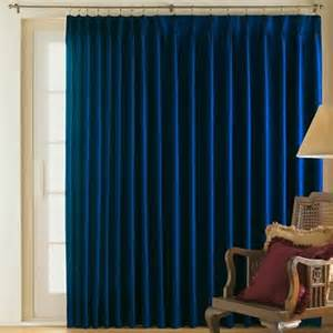 jcpenney patio curtains supreme thermal pinch pleat patio panel dress blue