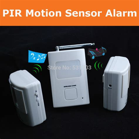 300 500foot wireless alarm pir motion sensor detector