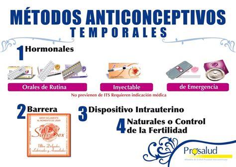 imagenes de anticonceptivos temporales prosalud anticoncepci 243 n m 233 todos anticonceptivos