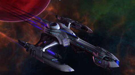 klingon nov class science destroyer by wyrdrune on deviantart