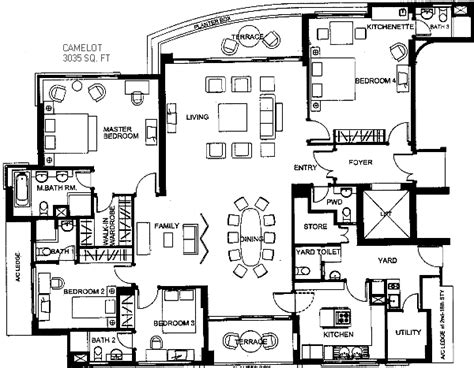 1259singapore Camelot Floor Plan Veterinary Small Animals Scream House Floor Plans