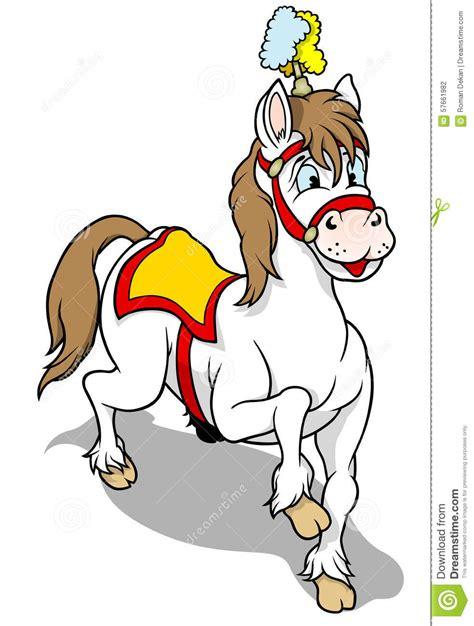 cavallo clipart cavallo circo illustrazione vettoriale illustrazione