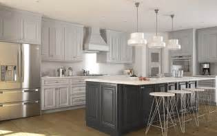 premade kitchen island roosevelt dove gray pre assembled kitchen cabinets the