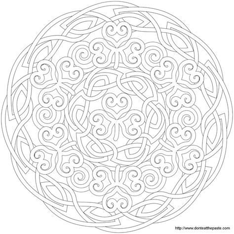 flower pattern mandala shamrock mandala mandala picture to color star mandala