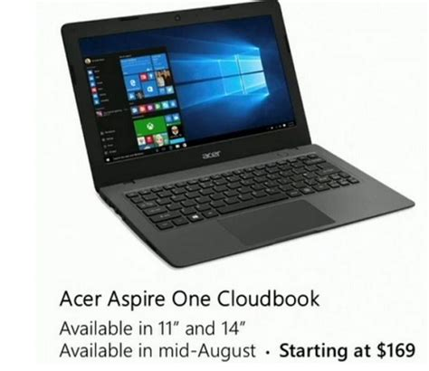 acer tutorial windows 10 microsoft unveils new acer windows 10 cloudbook