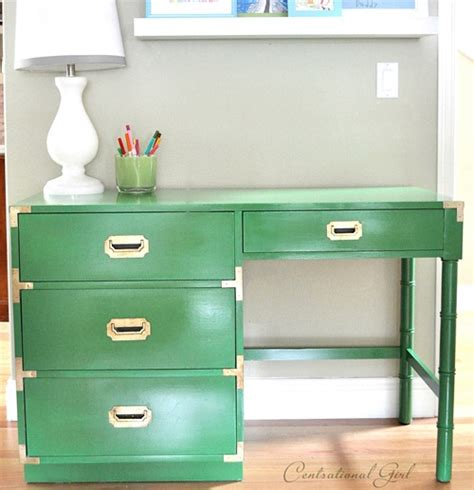 Green Desks by Upgrading A Caign Nightstand Livsplendidly