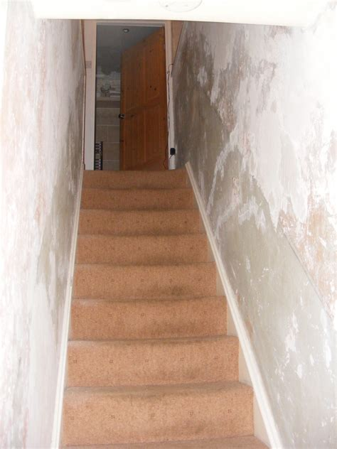 wallpaper hall stairs landing painting decorating