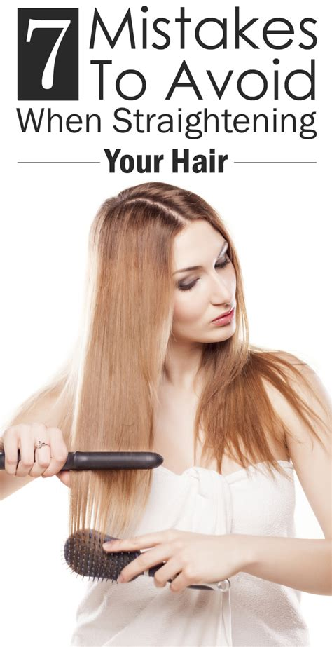 7 Hair Coloring Mistakes To Avoid by 7 Mistakes You Re Probably When You Straighten Your