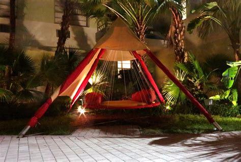 troline beds outdoor floating bed outdoor hanging bed diy troline i