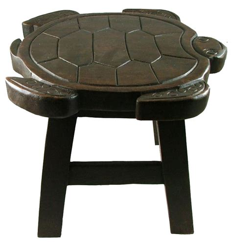 bath step stool tropical sea turtle child bath carved wooden step stool