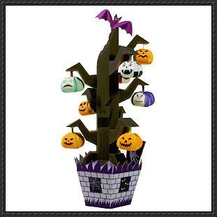 Canon Printable Paper Crafts - canon papercraft paper model tree