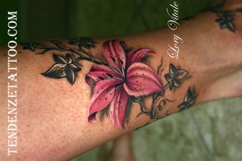 giglio fiore rosa pictures to pin on pinterest tattooskid