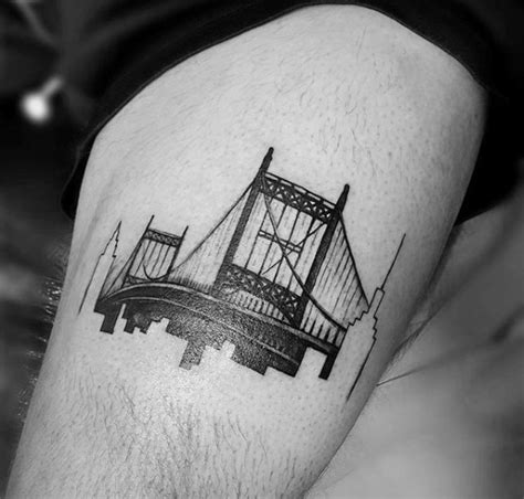 bridge tattoo 50 bridge design ideas for architectural ink