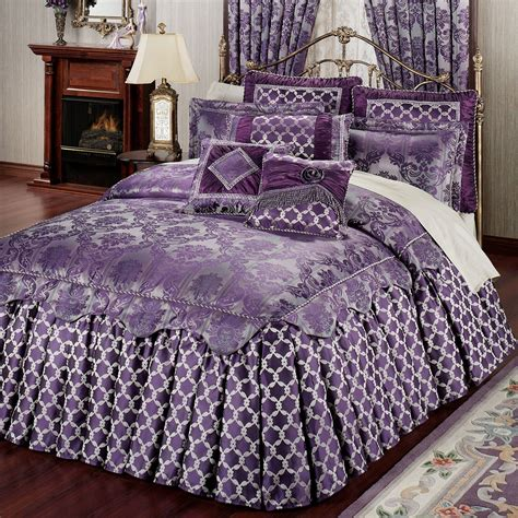 bed spreads renaissance ruffled flounce grande bedspreads