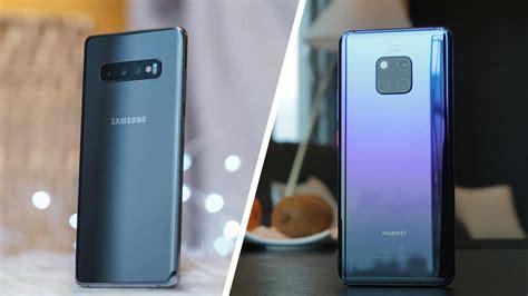 Huawei 4 Vs Samsung Galaxy S10 by Samsung Galaxy S10 Vs Huawei Mate 20 Pro Shootout Gadgetmatch