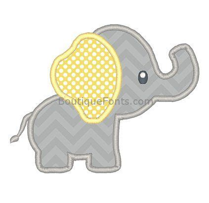 embroidery and applique designs best 25 elephant template ideas on elephant