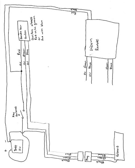 atv winch solenoid wiring diagram diagrams auto wiring