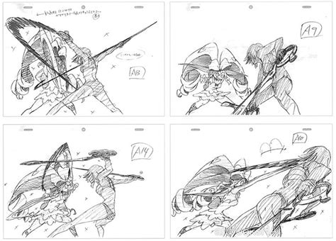 animation from concept to production books artbooksnat kill la kill キルラキル key frames of kengo