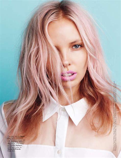 hairstyles color pink pastel hair design diys