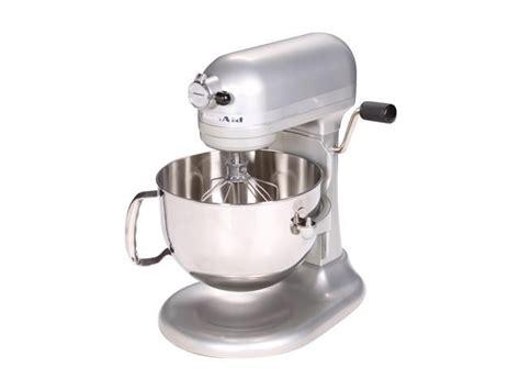 kitchenaid professional  series  quart stand mixer nickel pearl neweggcom