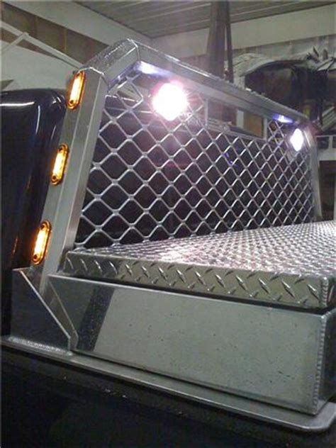 dodge ram headache rack with lights my new headache rack and toolbox dodgeforum com