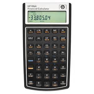 Finance Calculator Hp 10bii Financial Calculator