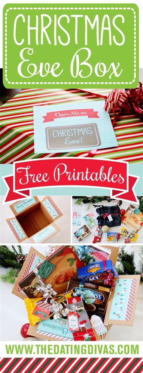 printable christmas eve box christmas eve box